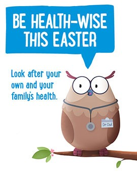 Be Health-Wise this Easter