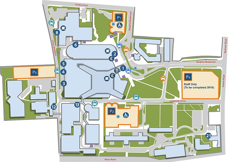 NSGHC Map - New Hospitals, Key Features