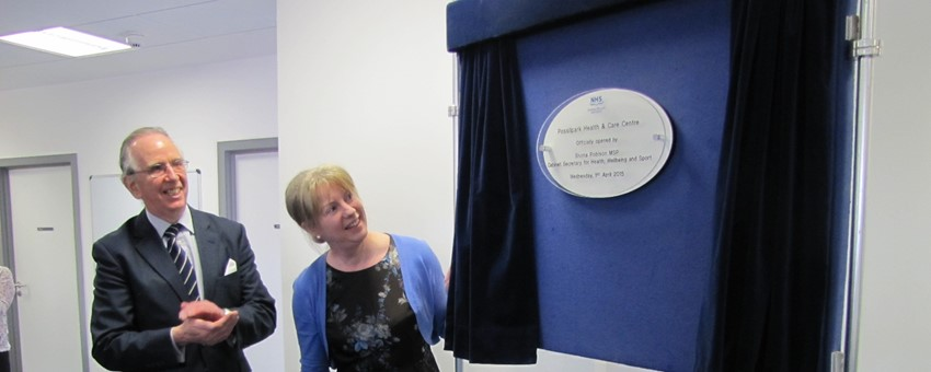 Possilpark Health and Care Centre officially opened