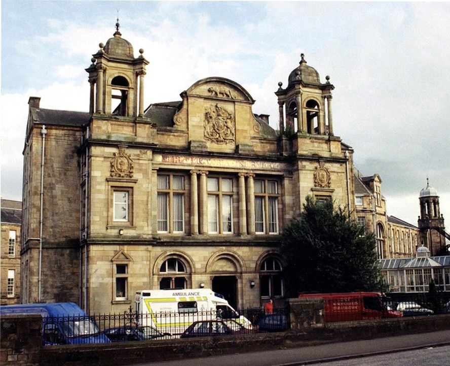 Former Victoria Infirmary Site to be Marketed for Sale