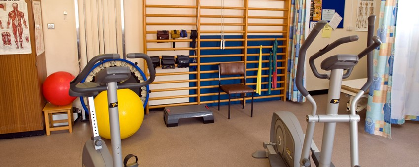 image of a physiotherapy room