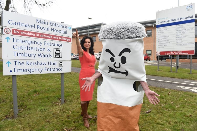 All NHSGGC mental health units to become smoke free on No Smoking Day