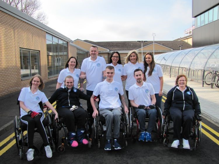 Team Glasgow Challenge for Inter Spinal Unit Games
