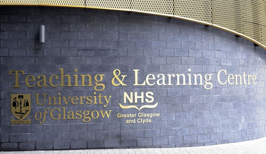 Teaching and learning centre sign