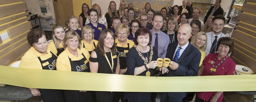 Lord Provost opens Beatson Cancer Charity's new cafe
