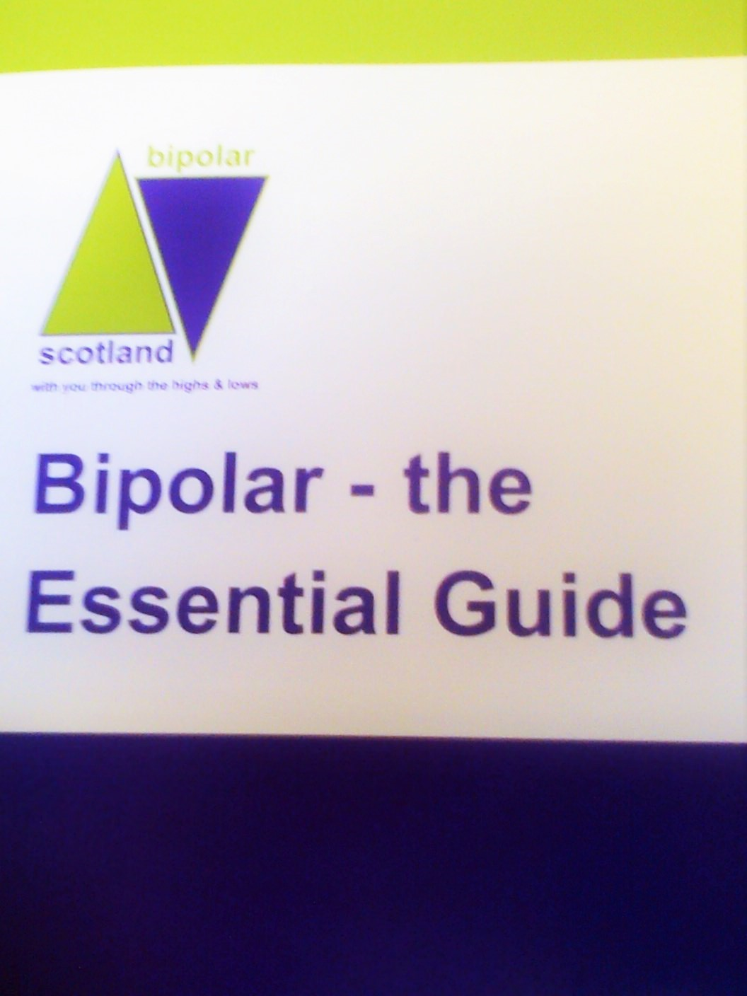 Launch of Bipolar: The Essential Guide