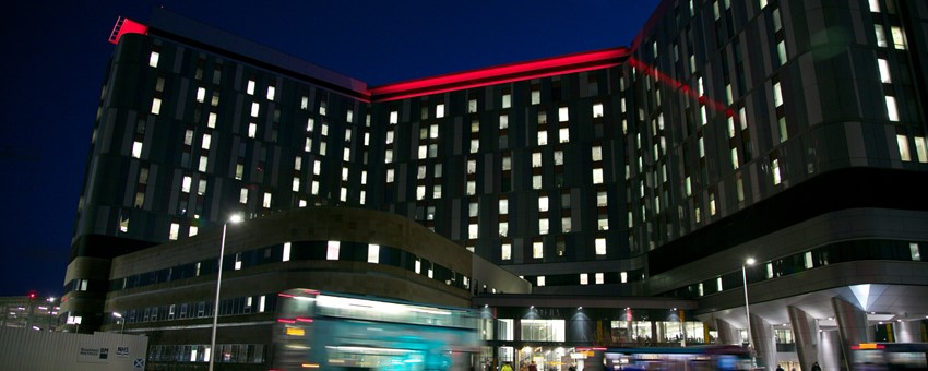 QEUH to light up red in recognition of World AIDS Day