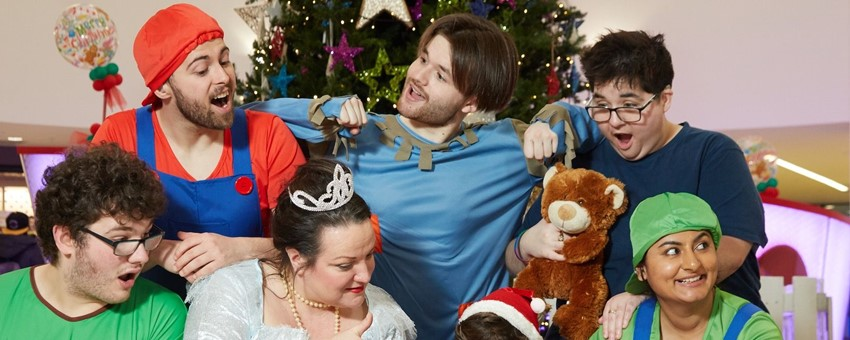 PANTO TIME AT THE ROYAL HOSPITAL FOR CHILDREN