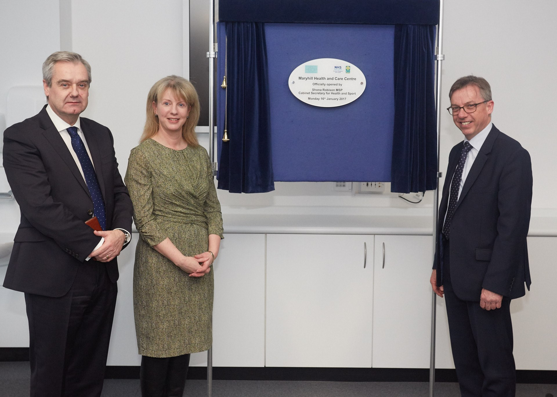 New £12.4 Million Maryhill Health & Care Centre officially opened by Cabinet Secretary for Health