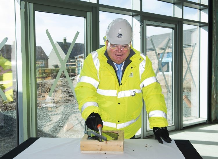 Topping Out Inverclyde's New Continuing Care Hospital