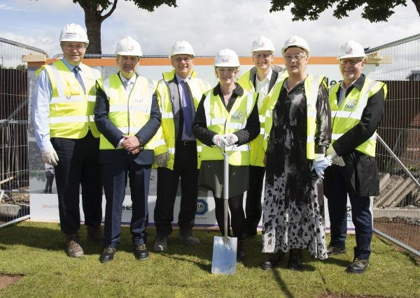 Health Secretary Cuts First Sod for New £17m Health and Care Centre