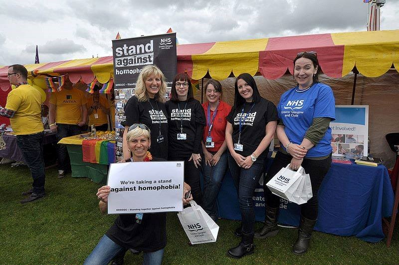 NHSGGC teams to join Pride Glasgow festival for fifth year in a row