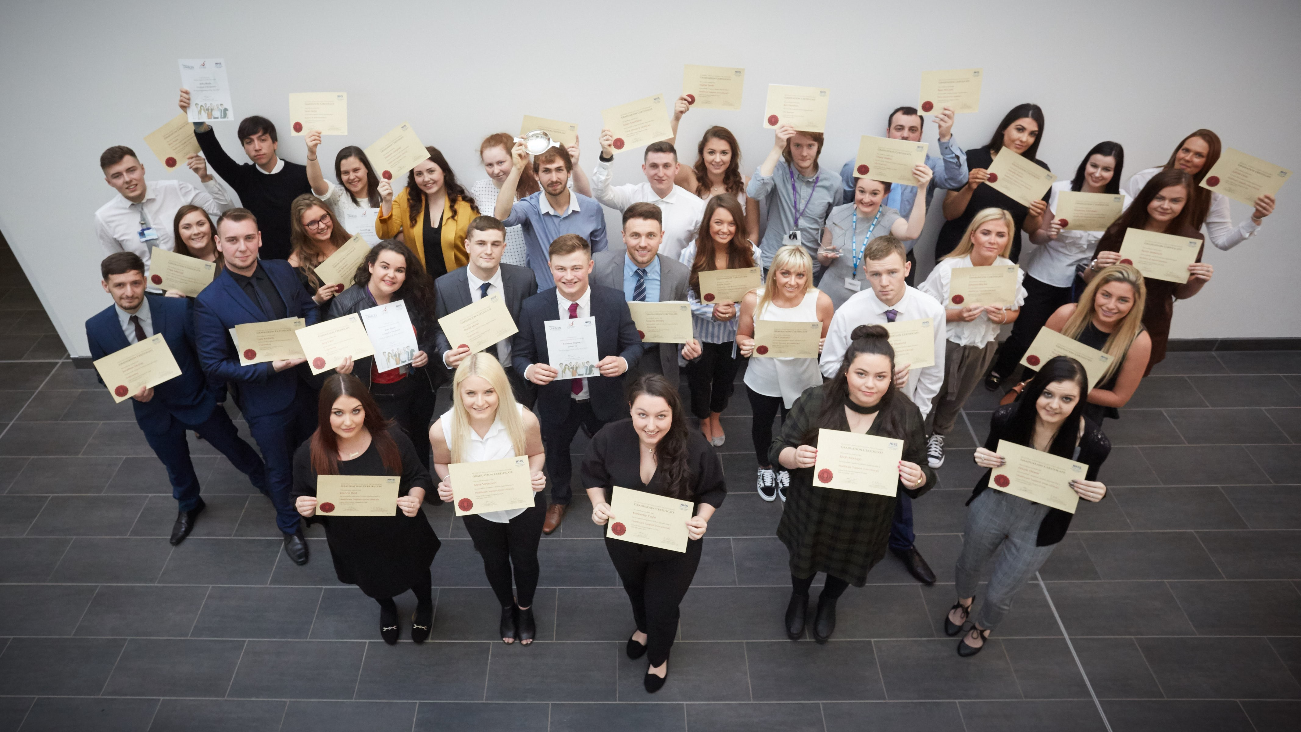 Modern Apprentice programme celebrates successful year & welcomes 60 new apprentices