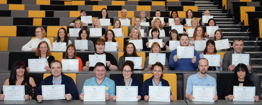 100 staff celebrated following successful completion of vocational qualifications