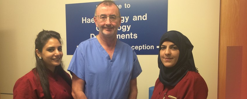 From the West Bank to West Dunbartonshire, Palestinian nurses benefit from NHS expertise