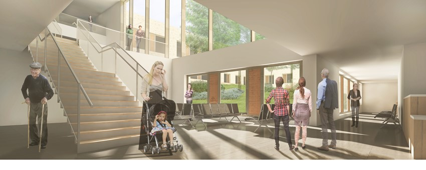 First Look at New Greenock Health Centre