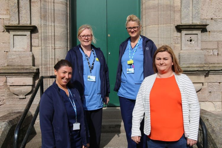 West Dunbartonshire BBV Team Shortlisted for Chairman's Award