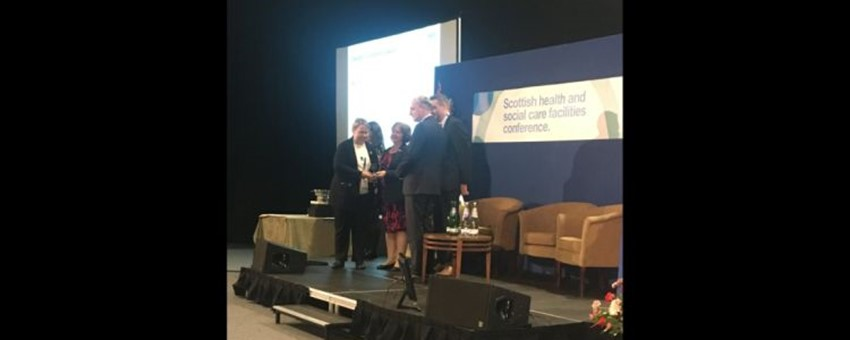 Three Awards at this Year's Scottish Healthcare Facilities Conference