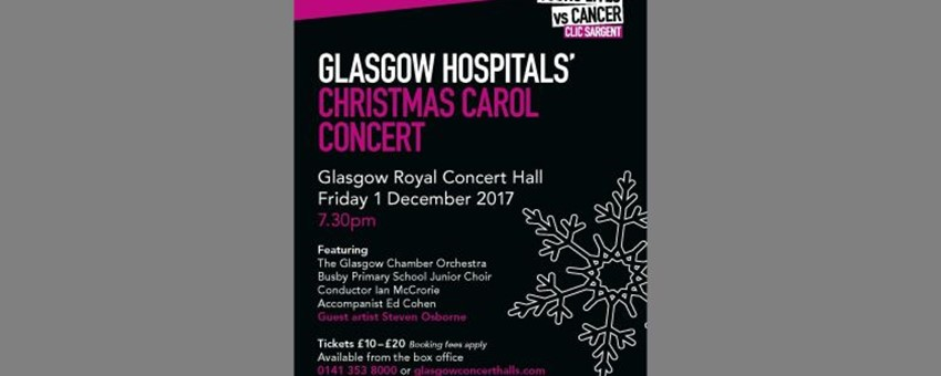 NHS Staff Sing for CLIC Sargent at Magical Christmas Carol Concert