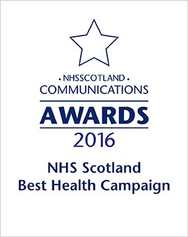 2016 - NHS Scotland Best Health Campaign