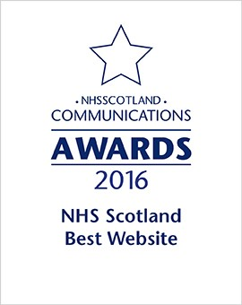 2016 - NHS Scotland Best Website