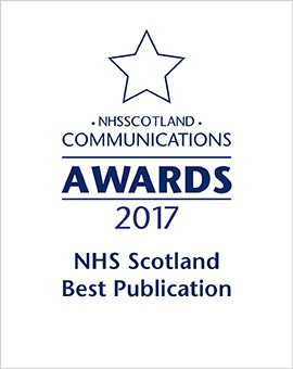2017 - NHS Scotland Best Publication