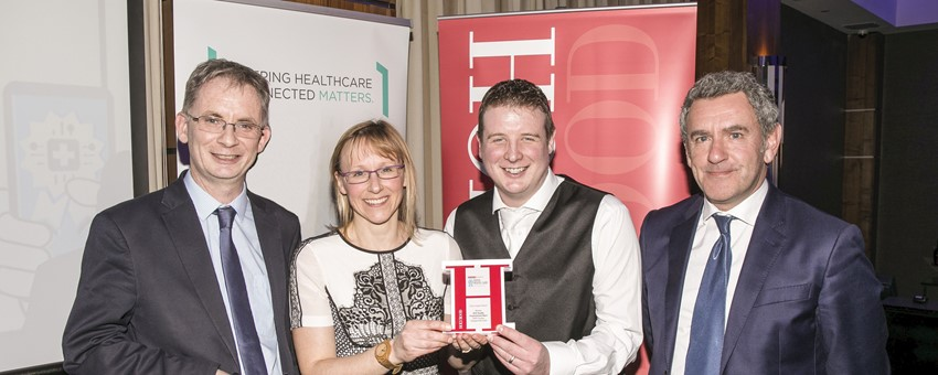 NHSGGC IT team recognised for research excellence