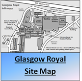 Glasgow Royal Site Map