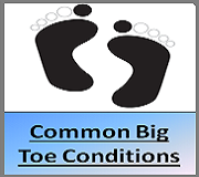 Common Big Toe Conditions