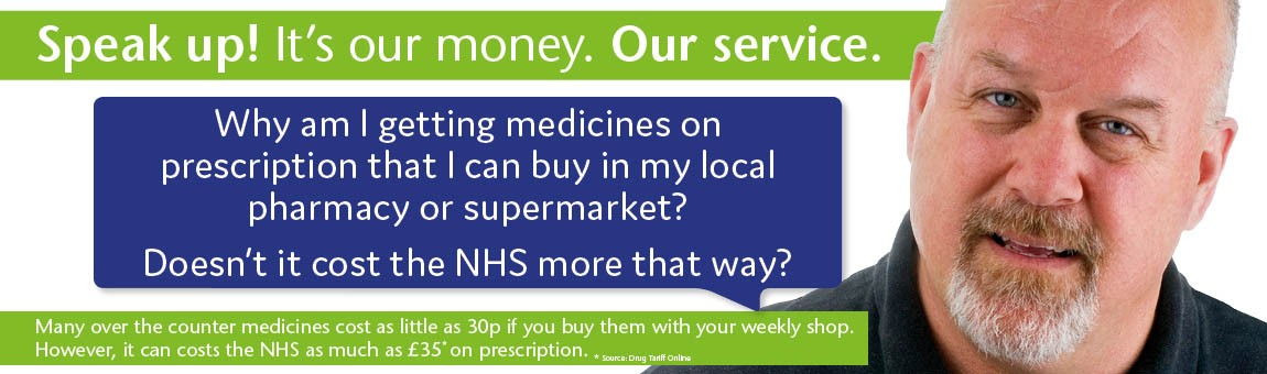 Why am I getting medicines on prescription that I can buy in my local pharmacy or supermarket? Doesn't it cost the NHS more that way?