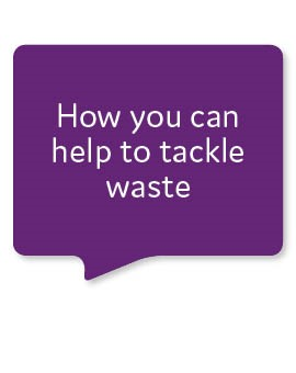 How you can help to tackle waste