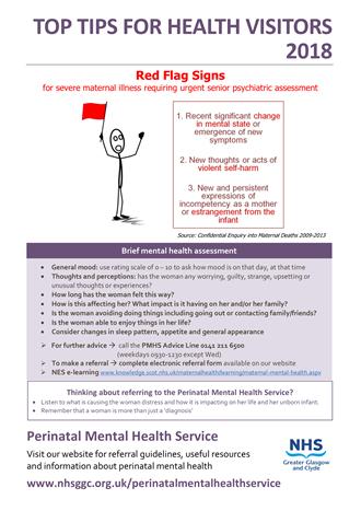 NHSGGC : Top Tips for Referrers