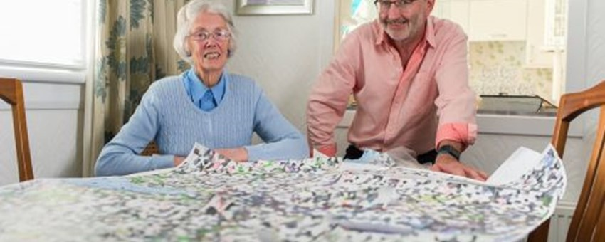 Vale embroidery brings together local landmarks for cancer patients