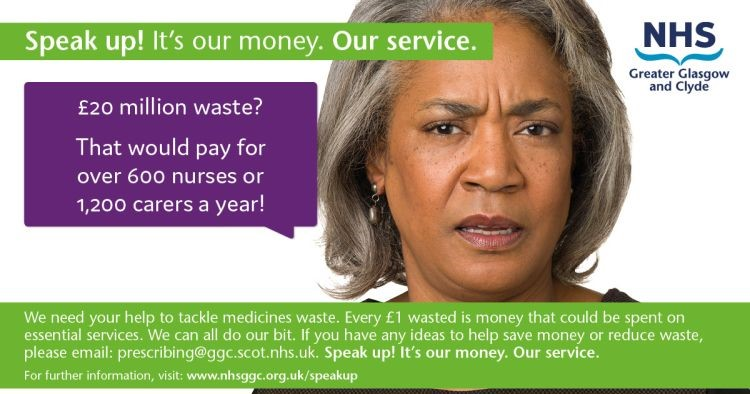 'Speak Up' and Help Us Tackle Medicine Waste