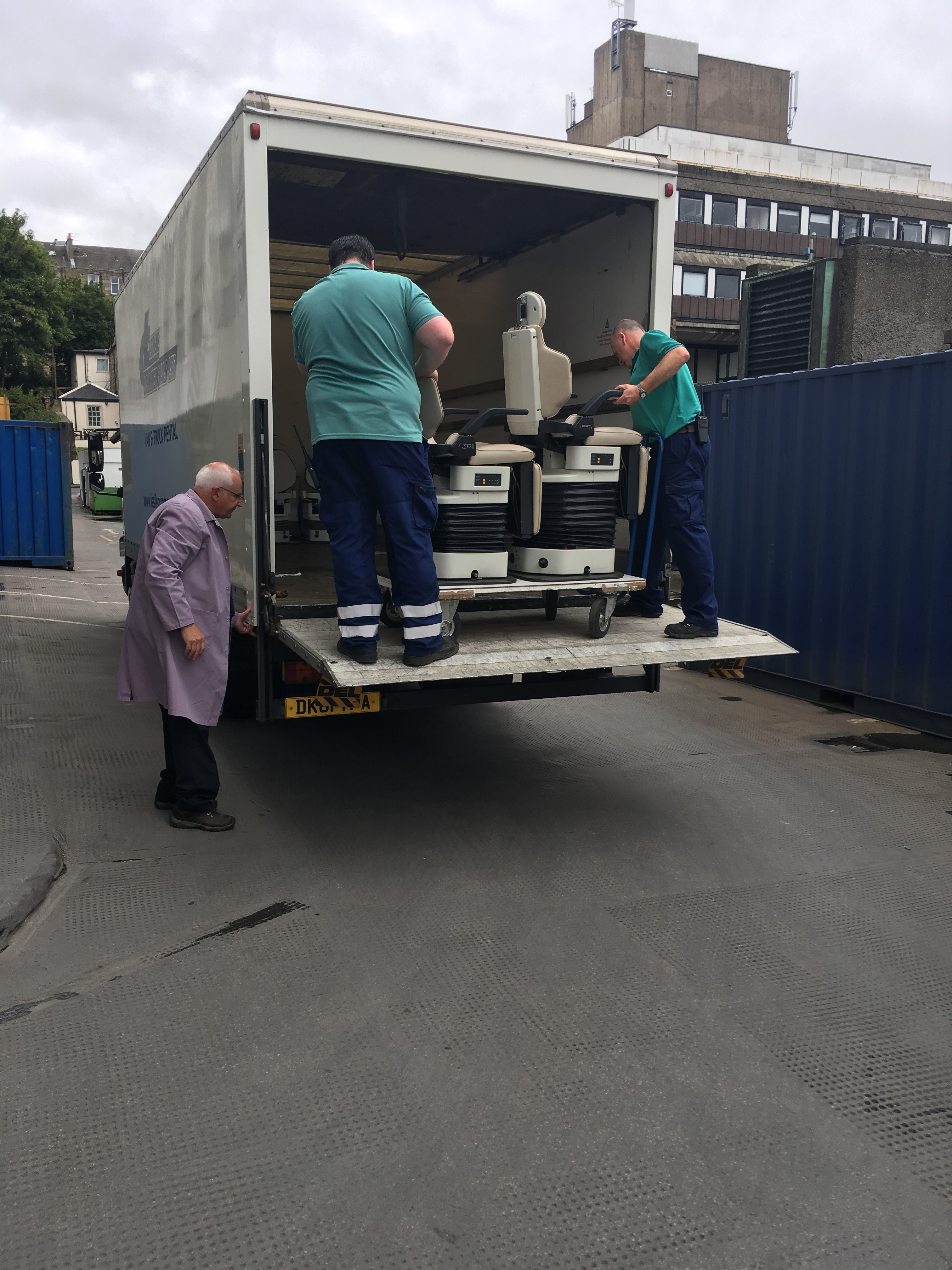 Glasgow Dental Hospital donates 12 chairs to Malawi's first dental school