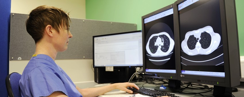 Eight new radiologists join NHS Greater Glasgow and Clyde