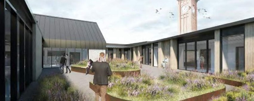 New £11m Stobhill Mental Health Wards Take Major Step Forward