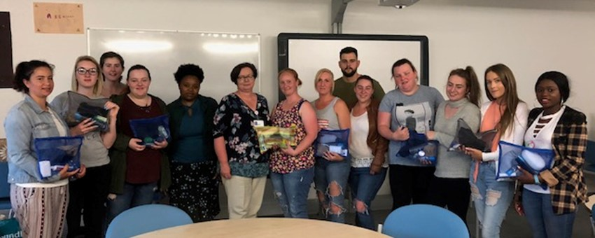 Students Gift Vital Supplies to Homeless Patients