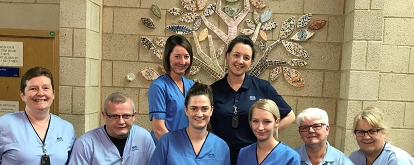 Claythorn and Blythswood Wards Aiming High for Their Patients