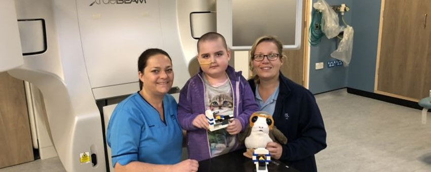 Toy Treatment Machine to Help Children with Cancer