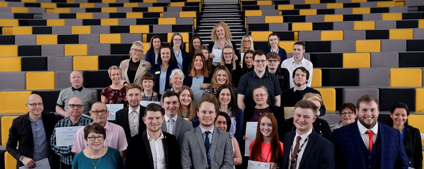 Glasgow apprentice scoops NHSGGC Modern Apprentice award