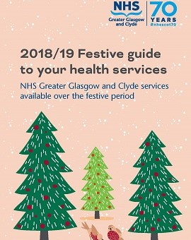 Guide to services at Christmas and New Year 2018-2019