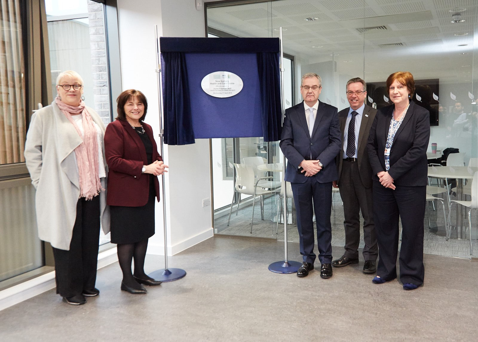 £17 Million New Gorbals Health & Care Centre officially opened by Cabinet Secretary for Health