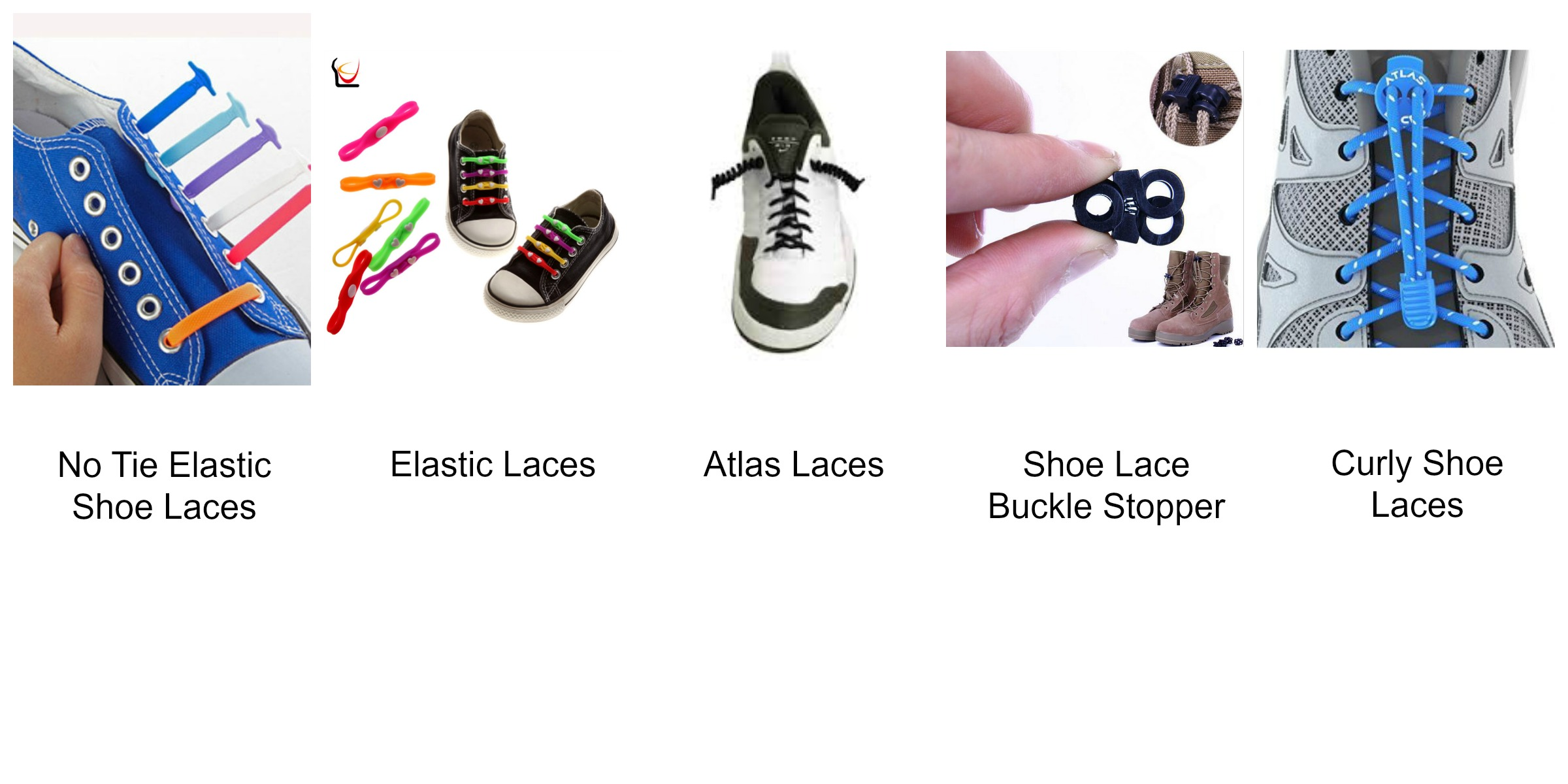 Shoelace Tying Alternative Strategies