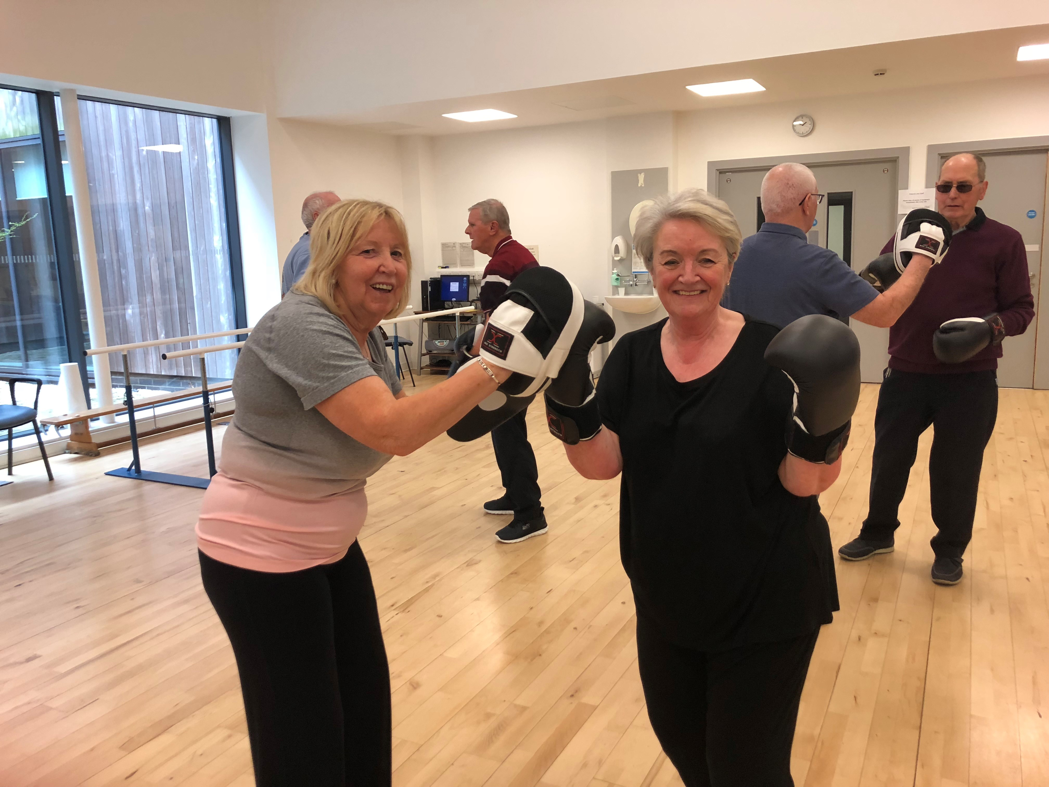 Parkinson's Gym Class Highly Commended at National Awards