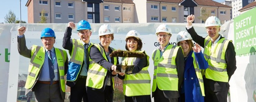 Cabinet Secretary for Health Kicks of Work on New Greenock Health & Care Centre