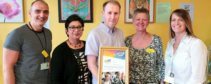Sandyford Awarded National LGBT Youth Scotland Gold Charter