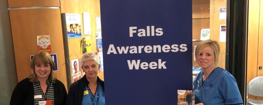 Award winning broken hip treatment team hosts Falls Awareness Week at Royal Alexandra Hospital