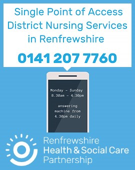 Renfrewshire District Nursing SPOA