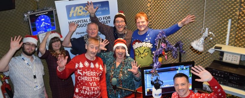 Hospital Radio Spreading Festive Cheer to Patients This Christmas